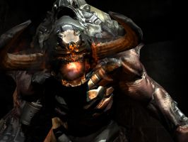 Doom 3 Demon by KooKarBurritO