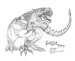 Gorga for Mecha GREGOLE by RenDragonClaw