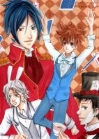 Tsuna in Wonderland by blurryskies