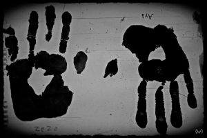 hand print  by Rosey30