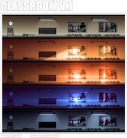 BG: Customized Classroom V.1 by CustomStory