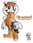 Bracket the Red Panda by Omnomlicious