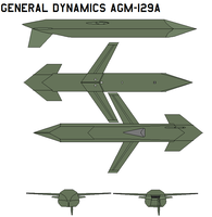 General Dynamics AGM-129A by bagera3005