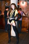 SIlk Spectre at the party by tajfu