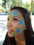 Facepaint - Flowers for Donna by GraphiteGhost
