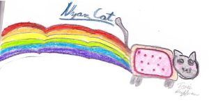 Nyan Cat by frailpaw