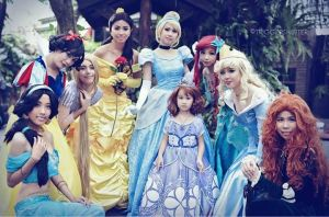 Disney Princesses Star Cast~ by dukesawolf