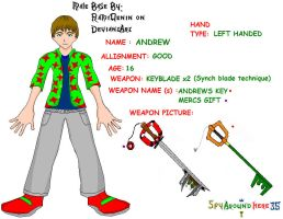 Me in Kingdom Hearts by spyaroundhere35