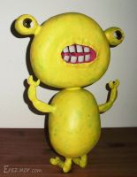 Yellow alien bug by erez-mor