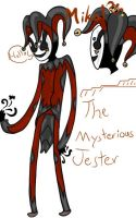 Mikal The Mysterious Jester by Ask-TheBirchTree