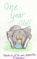 One Year Old by de-crnmeistr