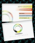 simple business card by jefrygraphica
