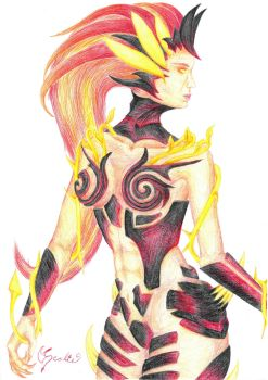 Wildfire Zyra by Scalie