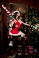 Candy Cane Miss Fortune by TENinania
