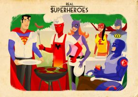 REal Superheroes BBQ by Mickeyns