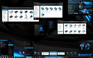 Hyperdesk Windows 7 by skinsfactory