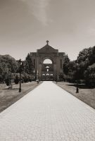 Saint Boniface Cathedral Front View by Joe-Lynn-Design