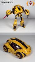 War for Cybertron Bumblebee by Unicron9