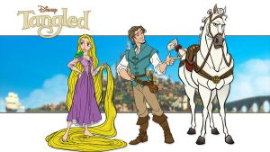 Tangled by momarkey