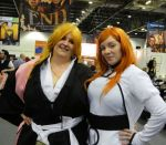 Rangiku and Orihime by MJ-Cosplay