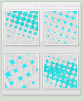 15 blue and gray icon textures by demonic-madness