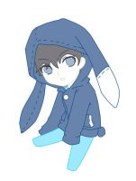 Chibi John in his bunny jacket by Cowboydan16