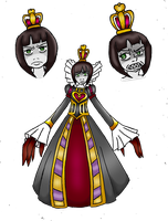 AMR - Queen of Hearts by LadyMischievous