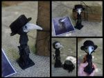 Doctor de la peste negra - Black plague doctor by Lauramei