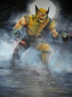 MARVEL ZOMBIES WOLVERINE: DEAD OF NIGHT by BUMCHEEKS2