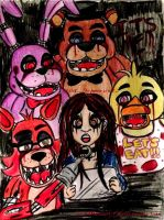 Five Nights At Freddy's : In the Dark by XxMoonlight-1-WishxX