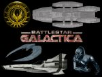 Battlestar Galactica set 1 by Balsavor