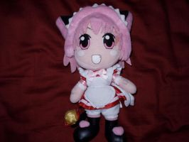 Cafe Ichigo plush by KittyChanBB