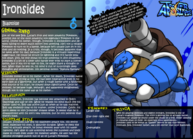 TA- Ironsides' Bio by LE-the-Creator