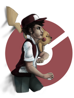 Pokemon Trainer Red by Madame-Clockwork