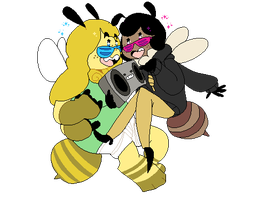 We Got The Bee t! by HauntedHomo
