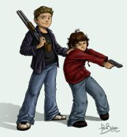 SPN: Kids With Guns by Ferntree