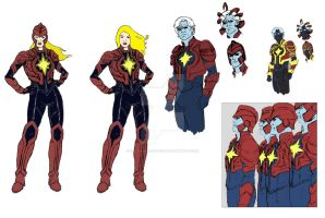 Captain Marvel movie Ideas by Needham-Comics