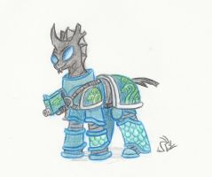 Changeling No. X of the Alpha Legion by Sensko