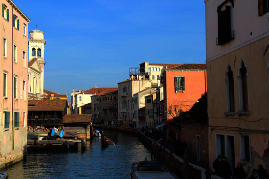 Venice Canal 2 by Schreibsessel