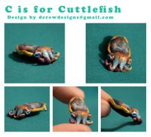 C is for Cuttlefish by Skyelark