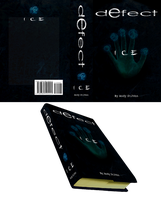 Defect: Ice Book Cover by OryxPixie