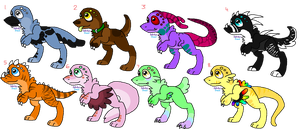 Fangling Adoptables (CLOSED) 5 Points Each by DetritusDroid
