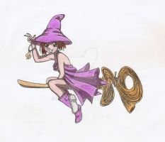 Will on Broom by MistyQue