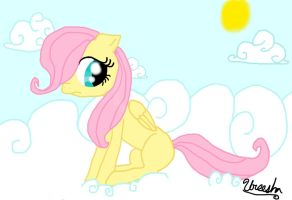 Filly Fluttershy by Star-of-Sparks
