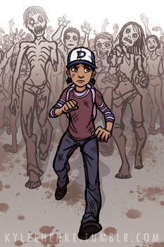 Run, Clem! by SonicRocksMySocks