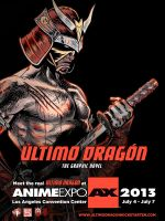 Anime Expo Ultimo Dragon Poster 3 by WiL-Woods