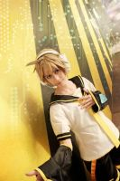Len Kagamine: Yellow Synthesizer by OztheNekoMaster