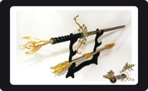 ESPADA - SWORD STEAMPUNK - CALEB by lego999666