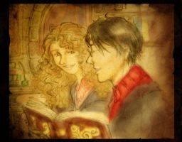Harry Hermione - Memories by alizarin