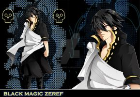 Black Magic Zeref by blue-merry-04
